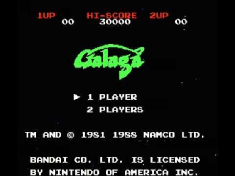 Galaga - Demons of Death (NES) Music - Game Start