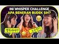 WHISPER CHALLENGE NGAKAK SAMPE NANGIS!  Bora feat Jinju & Ai