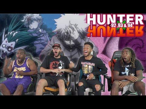 Killua Fights Back Hunter x Hunter 92 93 & 94 REACTIONREVIEW