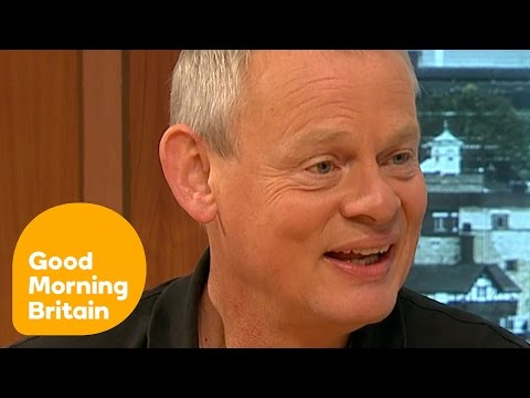 Martin Clunes On His Australian Adventure, Doc Martin And His Love Of Horses | Good Morning Britain