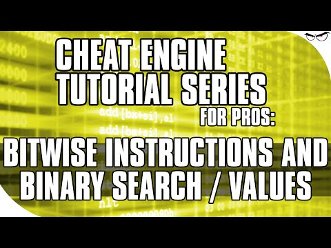 Cheat Engine Tutorial: Bitwise Instructions and Binary Search/Values [1001 Spikes]