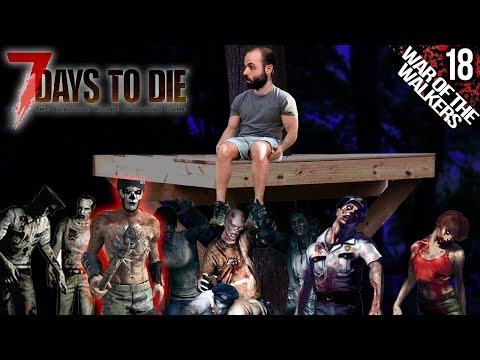 7 DAYS TO DIE M18 | VIENEN NPCs A LA HORDA!?? :O | Gameplay Español