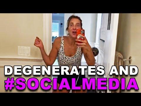 Degenerates and #SOCIALMEDIA