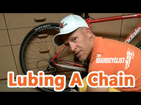 Quick & Easy Way To Oil A Bike Chain. Bike Maintenance Hacks