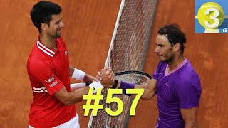 Nadal Defeats Djokovic in 2021 Rome Final | Three Ep. 39