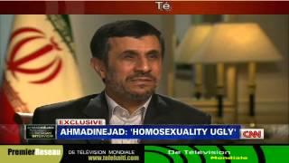 Gay :President Iran Ahmadinejad Slams homosexuality CNN