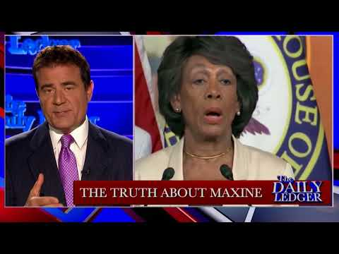 """Stop the Tape! The Truth About Maxine """"Mad Max"""" Waters"""
