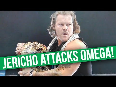 Chris Jericho Attacks Kenny Omega In Surprise NJPW Appearance