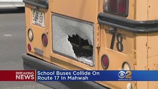 Two School Buses Crash In New Jersey