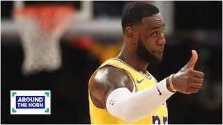 LeBron doesn't have anything left to play for this season – Ramona Shelburne   Around the Horn