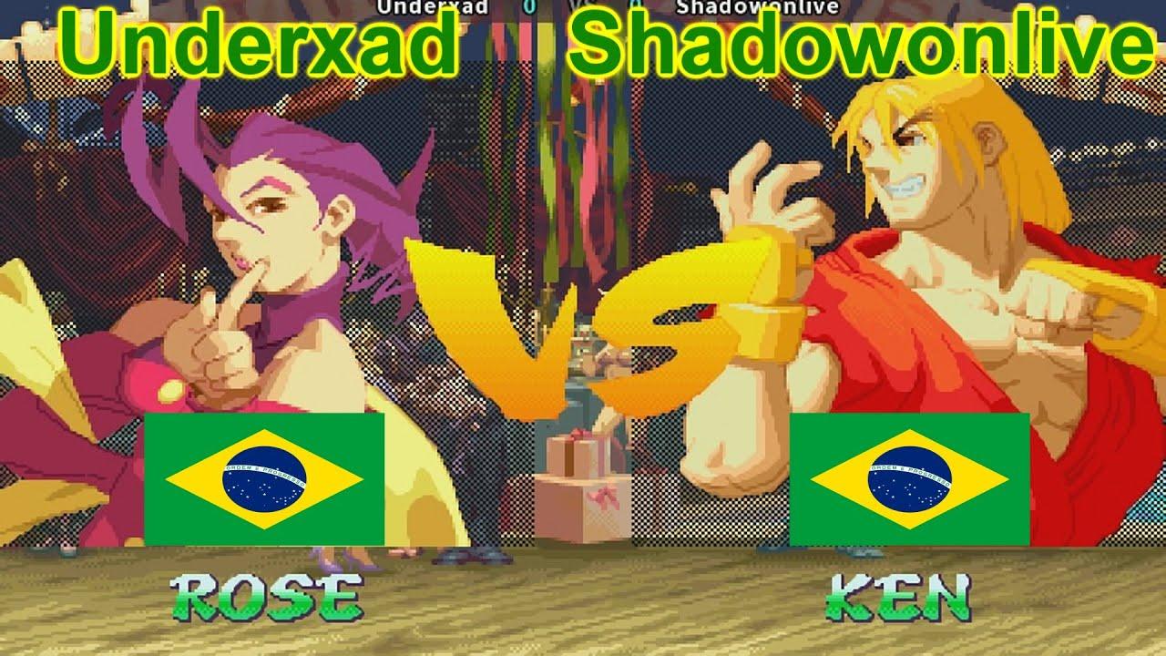 Street Fighter Alpha 2 - Underxad vs Shadowonlive