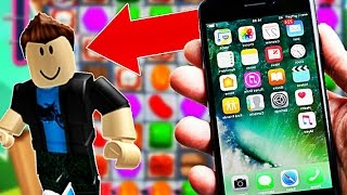 I MUST ESCAPE FROM an IPHONE?! Roblox!