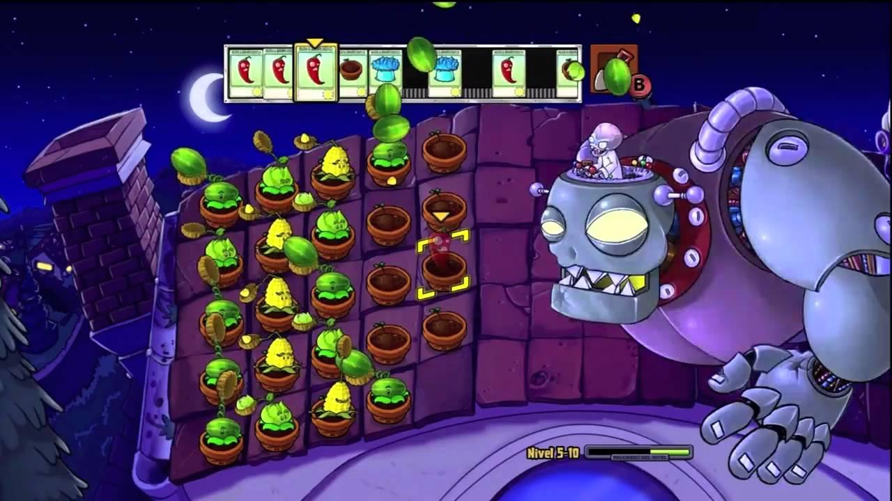 Mision final plantas vs zombies youtube for Fotos de la casa de plantas vs zombies