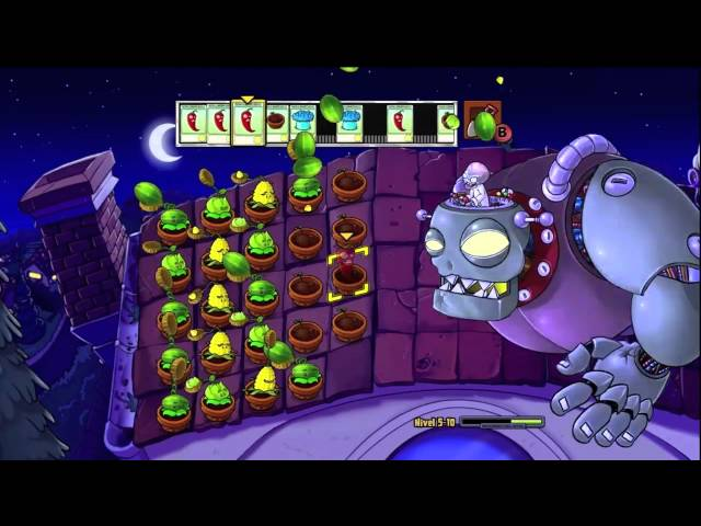 Mision Final Plantas vs Zombies Travel Video