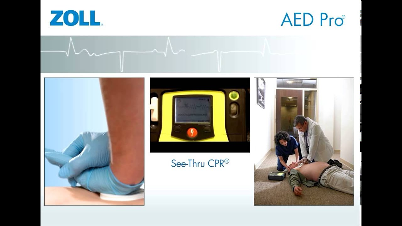 Zoll AED Pro Semi-Auto/Manual AED