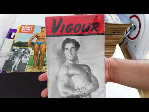 Arnold Schwarzenegger Olympia photo, rare German magazines, Reg Park mag cover, What's in the mail?