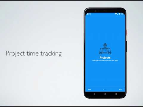 Time Tracking Android App - Java, Native Android