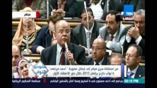 من إستقالة سري صيام الي إبطال عضوية أحمد مرتضي 6 نواب خارج برلمان 2015 خلال دوة الإنعقاد