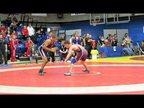 CIS Championships 2012: 57 kg Jason Buckle vs. Rishav Ranjit