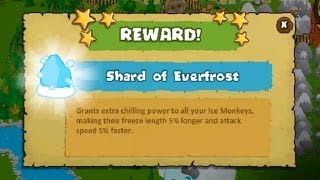 "Bloons Monkey City - Level 26 - ""Shard of Everfrost"" Reward - NLL"