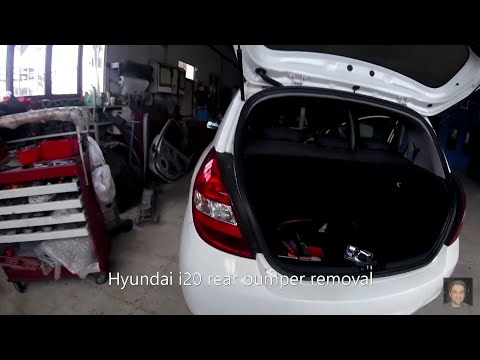 Hyundai i20 (2008–2014) rear bumper removal from YouTube · Duration:  7 minutes 33 seconds