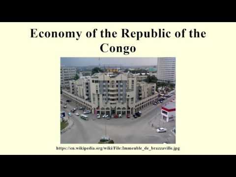 Economy of the Republic of the Congo