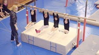 Открытый урок. Гимнастика. Пущино. Младшая группа 2017.