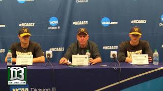 2018 D-III World Series Game 4: Wooster postgame