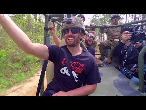 Austin Dillon, No. 3 team visits Fort Bragg