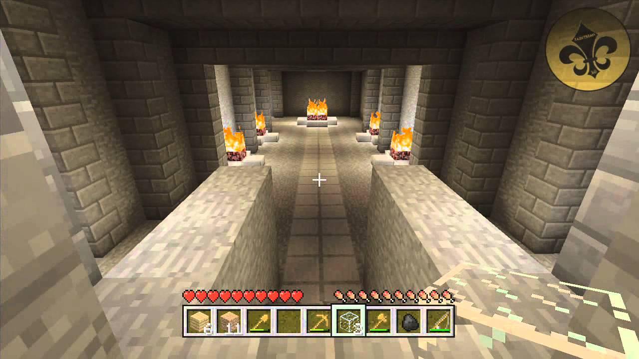 Minecraft (Xbox 11212): HIDDEN NETHER PORTAL LOCATION (112.112.12 Update -  Tutorial World)