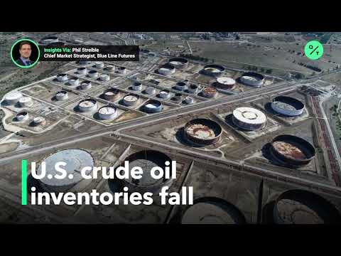 Crude oil supplies fall with lower driving demand
