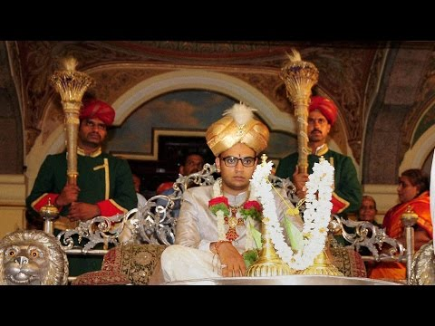 Yaduveer Krishnadatta Chamaraja Wadiyar: the new king of Mysore