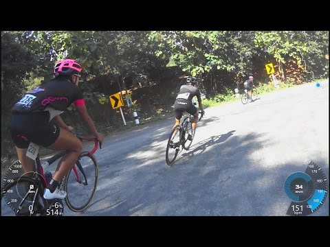 Masters Tour of Chiang Mai 2016 final climb stage 3, Women & Mens 40 and over