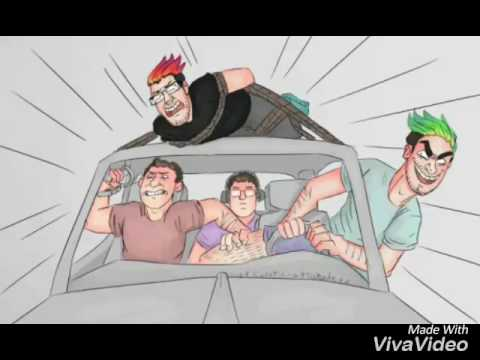 Count on me by bruno mars. Markiplier, Jacksepticeye, Bob, and Wade. Best friends