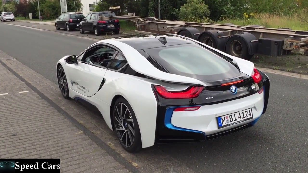 Speed Cars - BMW I8 362 HP Launch Control - Acceleration - Sound ...