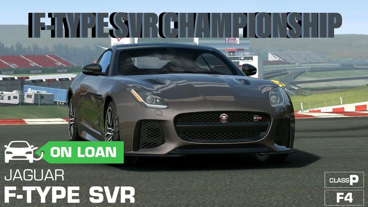 Jaguar F-Type SVR Championship - YouTube