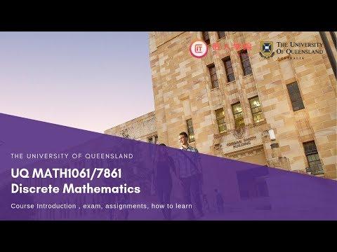 UQ MATH1061/7861 Discrete Mathematics 离散数学 课程介绍 thumbnail