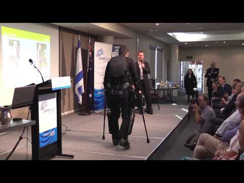 Israeli bionic legs showcased Down Under