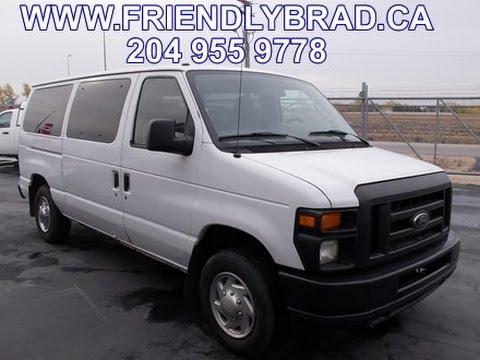 2010 Ford E150 XL 8 Passenger Van 21085 Indoor Auto Sales Winnipeg