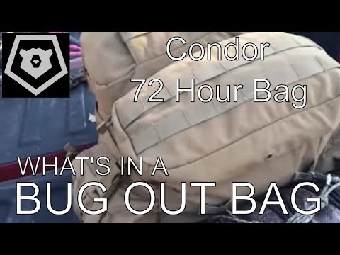 What's in a Bug Out Bag?