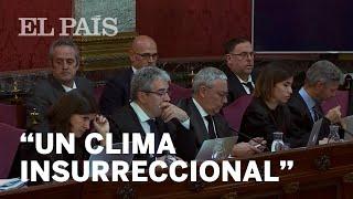 """JUICIO DEL PROCÉS: Un """"CLIMA INSURRECIONAL"""" desde el 20-S"""