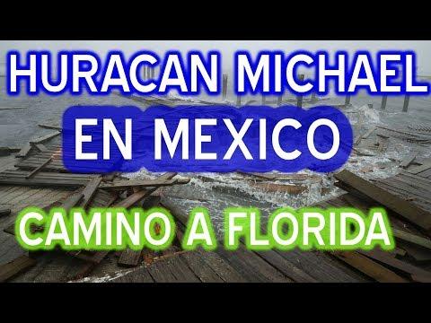 Huracan Michael llega méxico en su camino a USA #huracanmichael