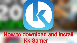 How to Download Kk Gamer and install for free modified and Hacked Games 2017