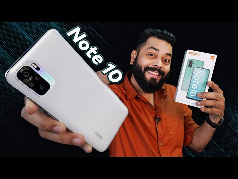 """Redmi Note 10 Unboxing And First Impressions 