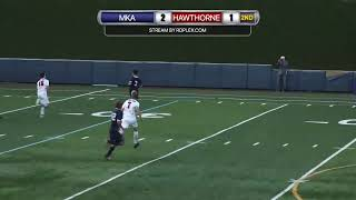 MKA vs Hawthorne Christian Academy - Sectional Semi-Final Boys Soccer