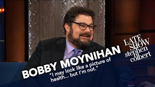 Bobby Moynihan And Stephen Put Their Bodies On The Line For Improv