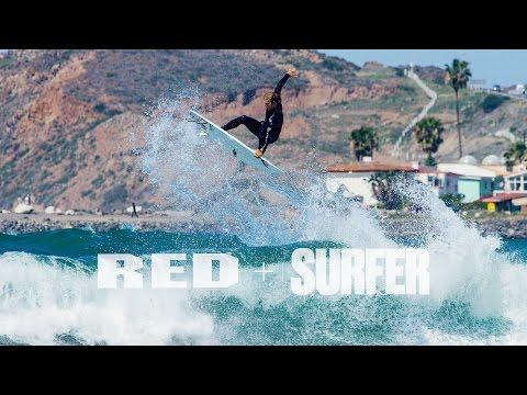 REDirect Surf 2015 - 4K Video - Jacob Wooden Shoots Josh Kerr