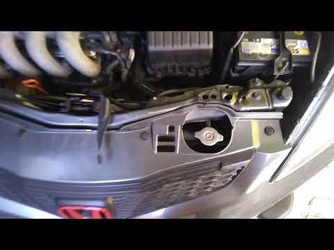 Honda New Fit Luz De Arrefecimento Piscando