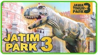 JATIM PARK 3 DINO PARK Serunya bermain bersama Dinosaurus di Jawa Timur Park 3 Batu Malang