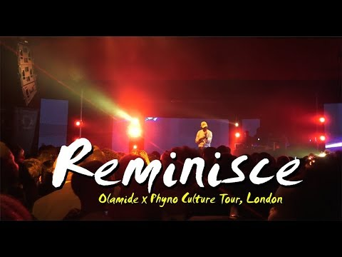 Download REMINISCE Performance @ Olamide X Phyno CULTURE TOUR CONCERT 2017, LONDON